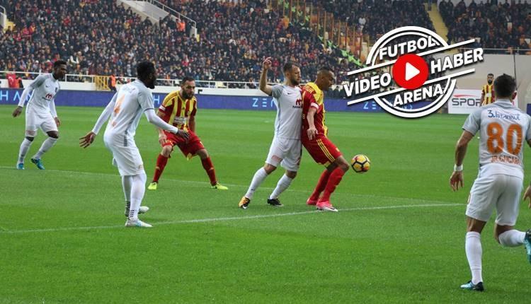 Yeni Malatyaspor 0-2 Başakşehir maçı özeti ve golleri (İZLE)