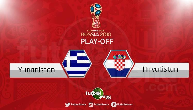Yunanistan Hırvatistan canlı skor, maç sonucu - Maç hangi kanalda?