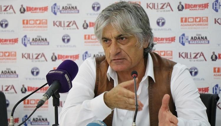 Adanaspor Teknik Direktörü Kemal Kılıç istifasını verdi