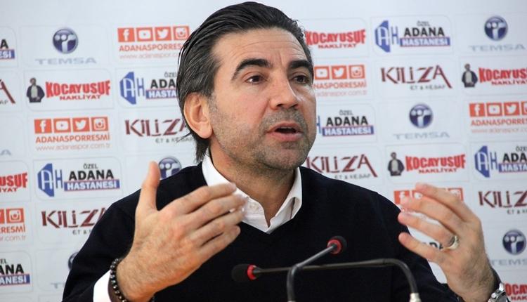 Adanaspor'da Osman Özköylü'den taraftarı heyecanlandıran açıklama
