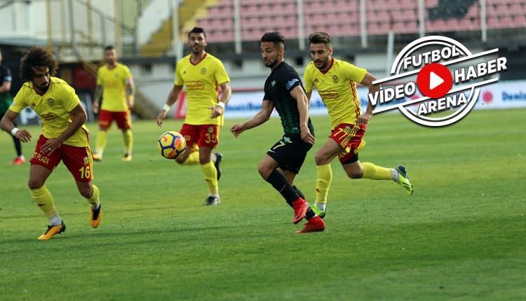 Akhisarspor 0-0 Yeni Malatyaspor maçı özeti (İZLE)