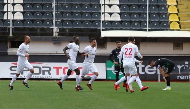 Akhisarspor 0-2 Kayserispor maç özeti ve golleri (İZLE)