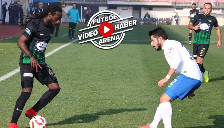 Akhisarspor 1-1 Ankara Demirspor maçı özeti ve golleri (İZLE)