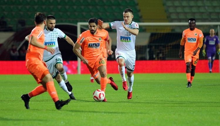 Alanyaspor 2-2 Giresunspor maç özeti ve golleri (İZLE)