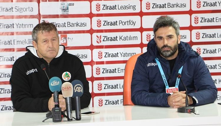 Alanyaspor'da Safet Susic kupadan elenme sebebini açıkladı