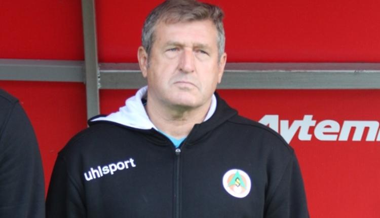 Alanyaspor'da Safet Susic'ten maç sonu Emre Akbaba itirafı