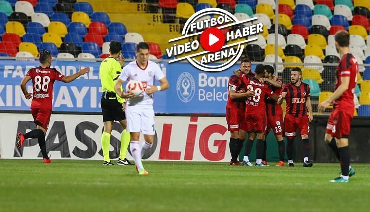 Altınordu 0-2 Gazişehir Gaziantep maçı özeti ve golleri (İZLE)