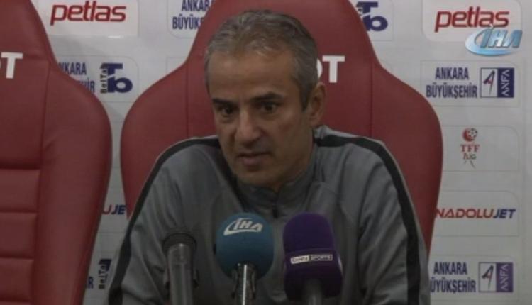 """Ankaragücü'nde İsmail Kartal: """"Başkentin büyükleri bu takıma sahip çıkmalı"""""""
