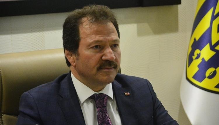 Ankaragücü'nde Mehmet Yiğiner'den liderlik ve Süper Lig açıklaması