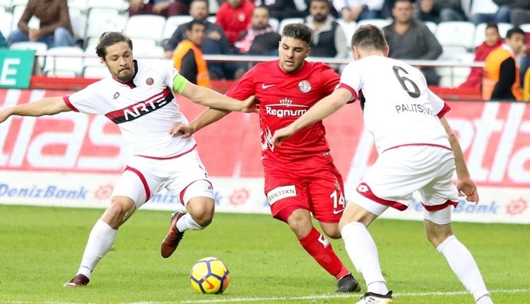 Antalyaspor 1-1 Gençlerbirliği maç özeti ve golleri (İZLE)