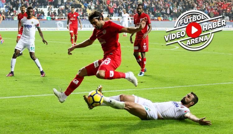 Antalyaspor 3-1 Alanyaspor maçı özeti ve golleri (İZLE)