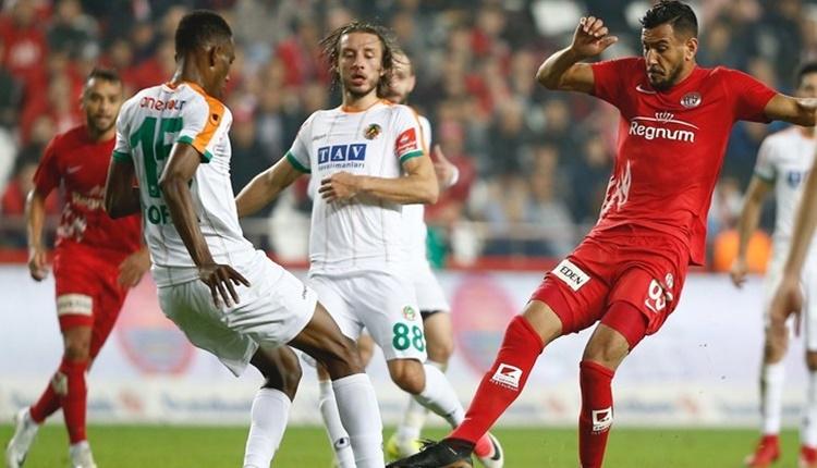Antalyaspor'un 5 haftalık galibiyet hasreti bitti
