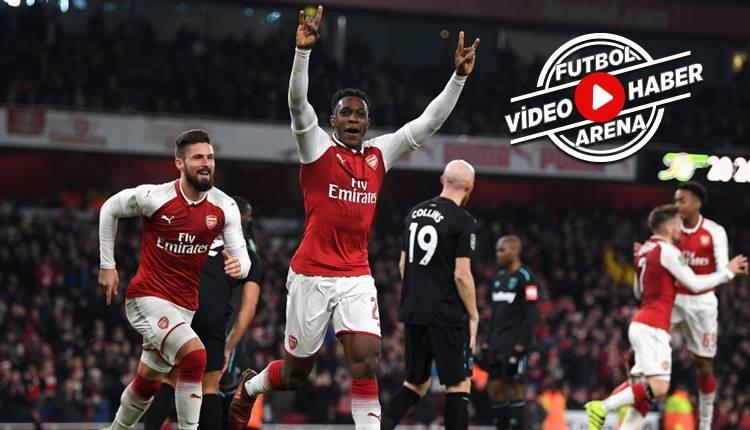 Arsenal 1-0 West Ham maçı özeti ve golü (İZLE)