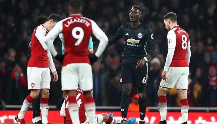Arsenal 1-3Manchester United maç özeti ve golleri (İZLE)