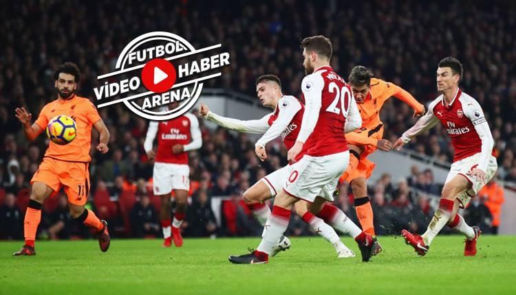 Arsenal 3-3 Liverpool maçı özeti ve golleri (İZLE)