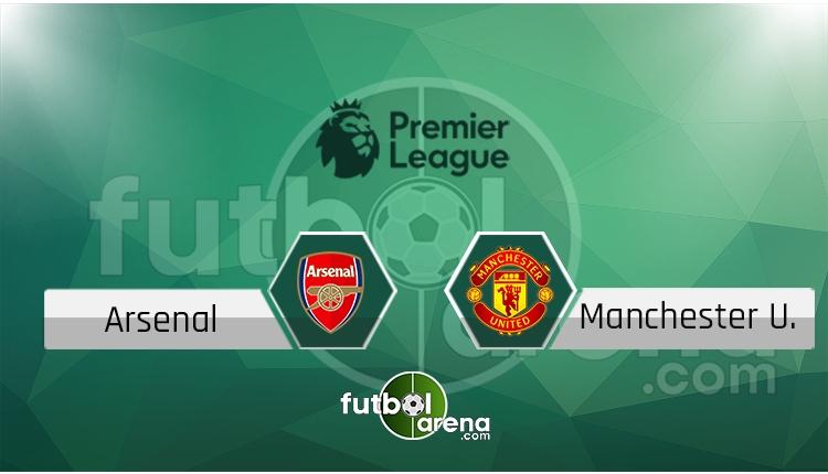 Arsenal - Manchester United saat kaçta, hangi kanalda? (İddaa Canlı Skor)