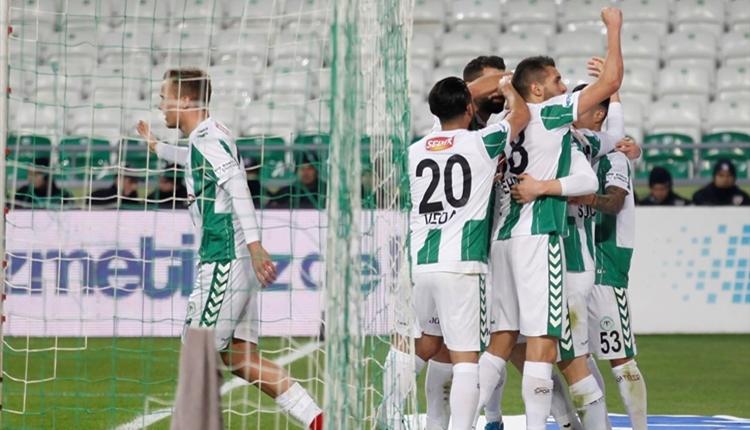 Atiker Konyaspor 2-0 Karabükspor maç özeti ve golleri (İZLE)