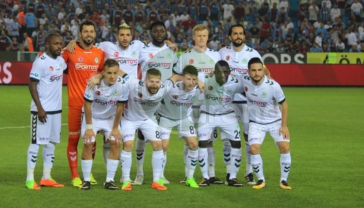 Atiker Konyaspor geçen sezonun uzağında kaldı