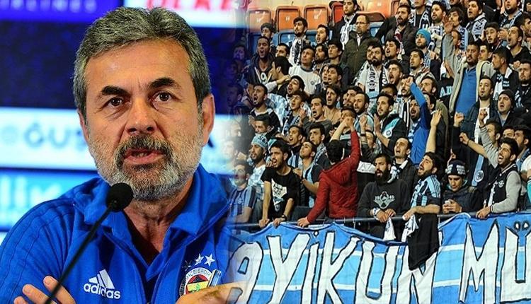 Aykut Kocaman'dan Adana Demirspor taraftarına övgü dolu sözler