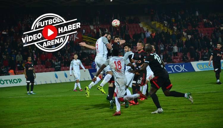 Balıkesirspor 1-0 Gazişehir Gaziantep maçı özeti ve golü (İZLE)