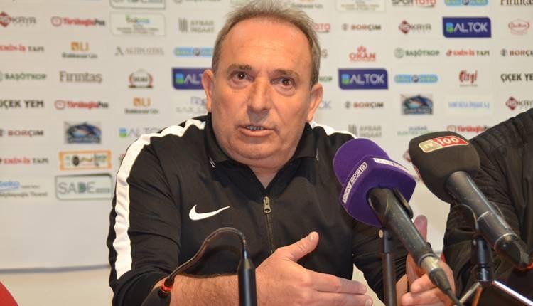 Balıkesirspor'da Can Cangök'ten oyuncularına eleştiri