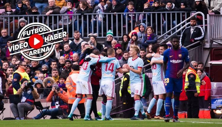 Barcelona 2-2 Celta Vigo maçı özeti ve golleri (İZLE)