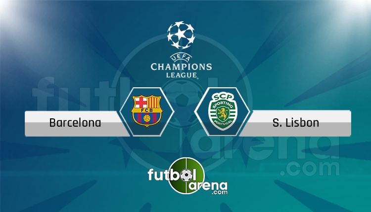 Barcelona - Sporting Lizbon saat kaçta, hangi kanalda? (İddaa Canlı Skor)