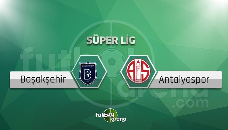 Başakşehir - Antalyaspor saat kaçta, hangi kanalda? (İddaa Canlı Skor)