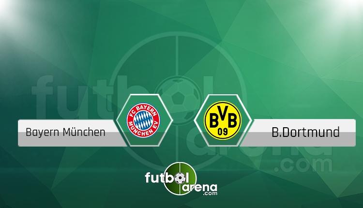 Bayern Münih - Borussia Dortmund maçı saat kaçta, hangi kanalda? (İddaa Canlı Skor)