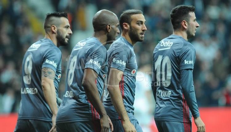 Beşiktaş, 2017'de en çok gol atan takım oldu