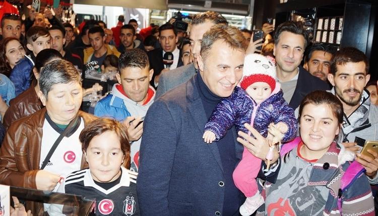 Beşiktaş Başkanı Fikret Orman, Aydın'da izdihamla karşılandı
