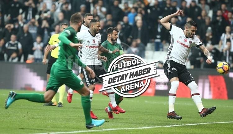 Beşiktaş ilk yarıyı önde kapatınca kazanıyor!