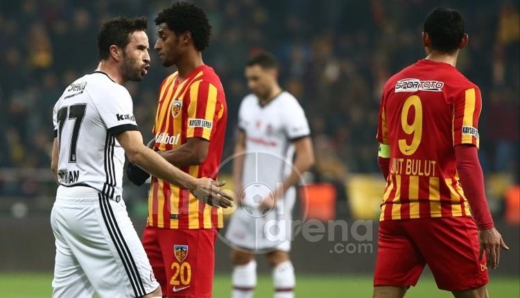 Beşiktaş, Kayserispor'un müthiş serisini bozamadı