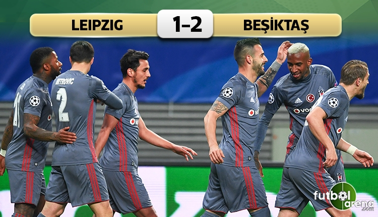Beşiktaş, Şampiyonlar Ligi'nde tarih yazdı!
