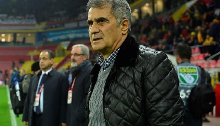 Beşiktaş Teknik Direktörü Şenol Güneş: 'Biz bu oyuna alışık değiliz.'