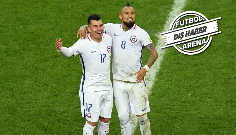 Beşiktaş ve Gary Medel'e Arturo Vidal'den mesaj...