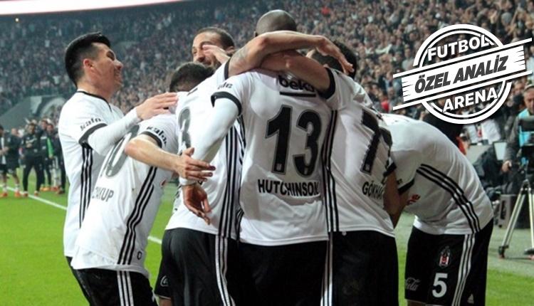 Beşiktaş'ın ilk yarıyı önde bitirince rahatlıyor