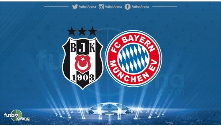 Beşiktaş'ın Şampiyonlar Ligi'ndeki rakibi Bayern Münih