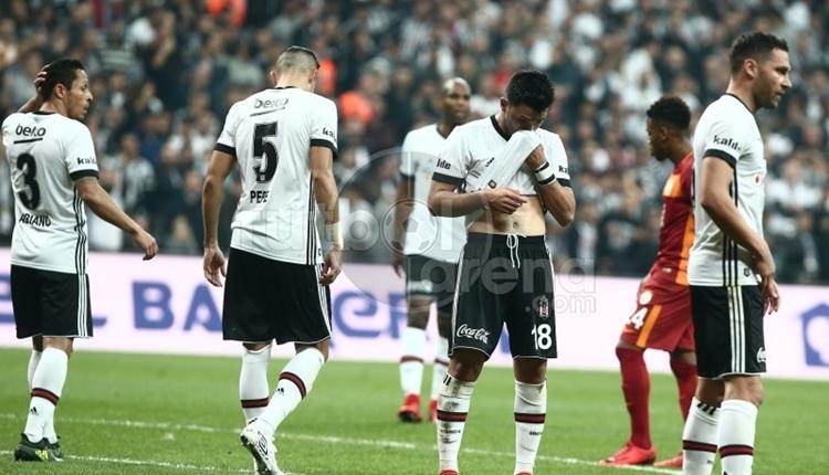 Beşiktaşlı Tolgay Arslan, Galatasaray derbisinde bayıldı