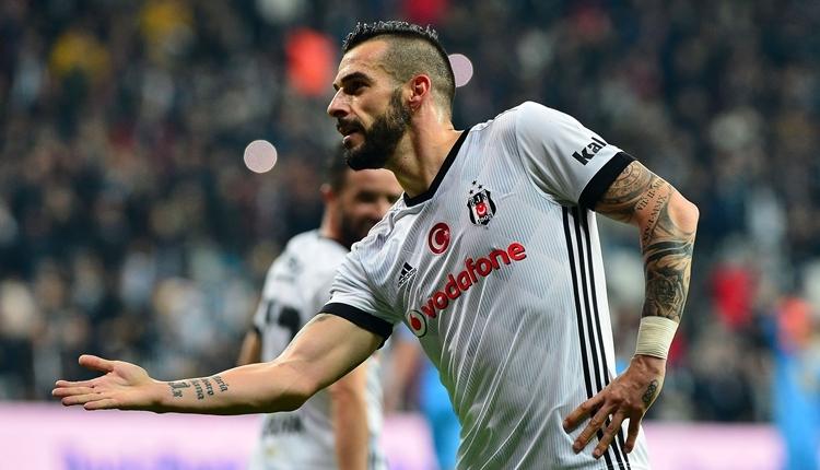 Beşiktaş'ta Alvaro Negredo bir ilki yaşadı