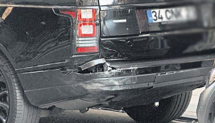 Beşiktaş'ta Cenk Tosun trafik kazası geçirdi