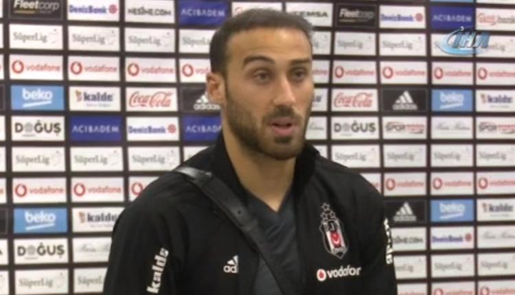 Beşiktaş'ta Cenk Tosun'dan derbi sonu transfer açıklaması