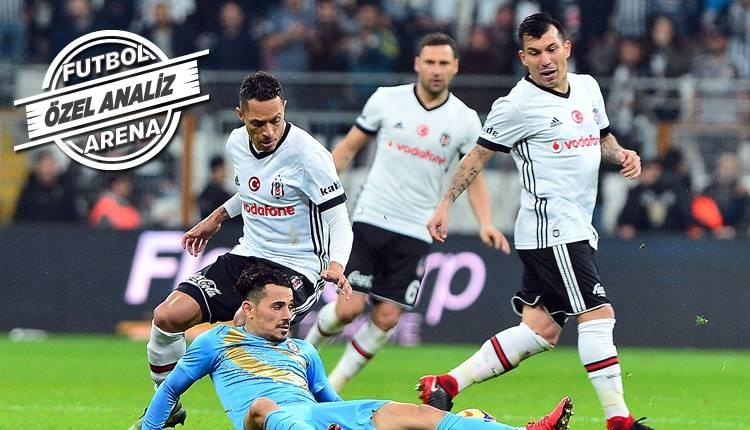 Beşiktaş'ta Gary Medel'den kusursuz performans