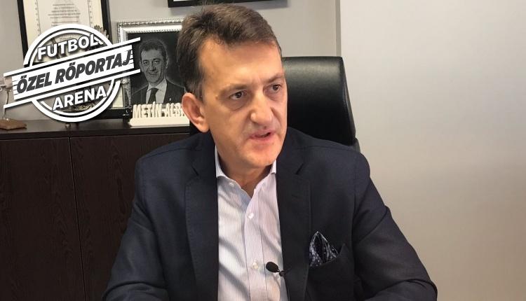 Beşiktaş'ta Metin Albayrak, FutbolArena'ya konuştu