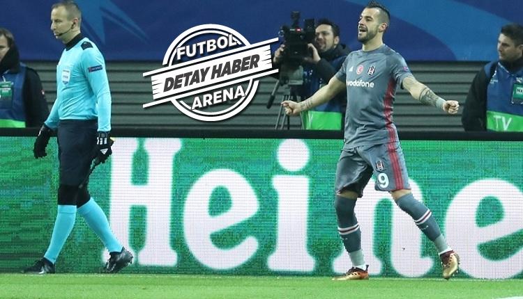 Beşiktaş'ta Negredo fırtınası! Leipzig'e attığı golde önemli detay