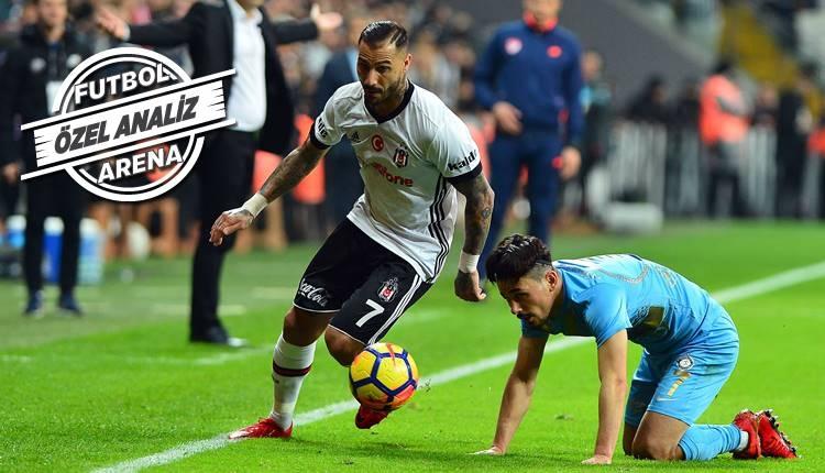 Beşiktaş'ta Ricardo Quaresma'nın ortaları tartışılıyor