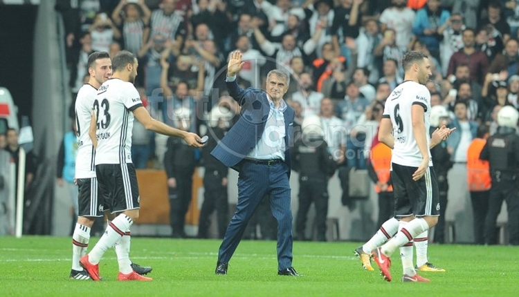 Beşiktaş'ta Şenol Güneş, Galatasaray'a yenilmiyor