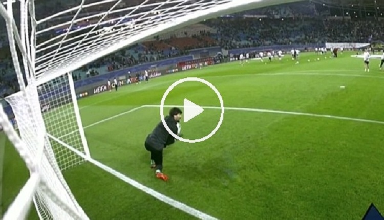 Beşiktaş'ta Tolga Leipzig maçı öncesi korkuttu! Isınmada yüzüne top gelince...