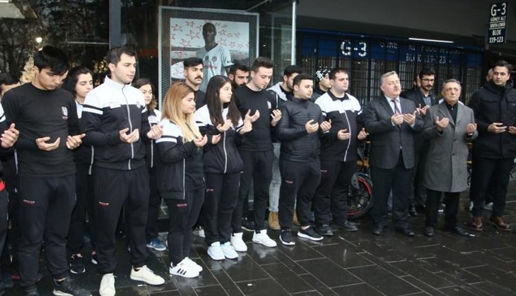 Beşiktaş'tan şehitler için anlamlı hareket