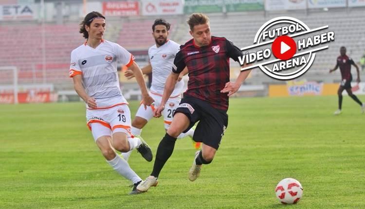Boluspor 1-0 Adanaspor maçı özeti ve golü (İZLE)
